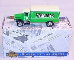 Matchbox YPP03 Power of the Press Berliner-Morgenpost 1932 Mercedes-Benz