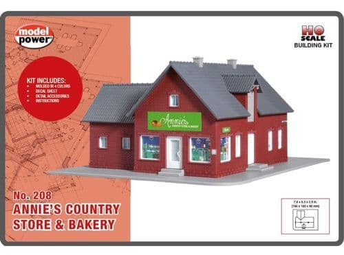 Model Power208 Annie's Country Store & Bakery Building Kit