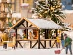 N14683 Scale(s): 1:160 Scale, Noch N Scale MULLED WINE STALL LASER CUT MINIS KIT