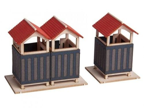 Noch 14261 Scale(s): 1:87 Scale, HO Scale CHANGING ROOMS LASER CUT MINIS KIT