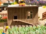Noch 14378 Scale(s): 1:87 Scale, HO Scale CHICKEN SHED LASER CUT MINIS KIT