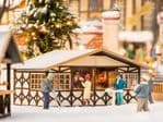 Noch 14682 Scale(s): 1:160 Scale, N Scale CHRISTMAS MARKET STALL LASER CUT MINIS KIT