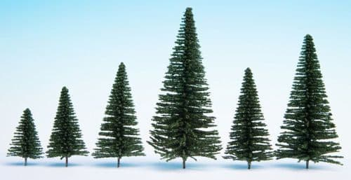 Noch 32830 Scale: Multi Scale FIR (25) HOBBY TREES 3.5-9CM