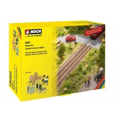 Noch 60811 Scale: Multi Right & Left Along The Tracks Perfect Set