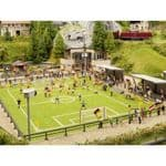 Noch 66830 Football Stadium with Clubhouse Floodlights & Sound