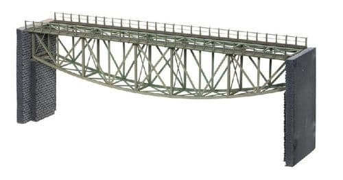 Noch 67027 - HO / OO Scales Fishbelly Bridge with Bridge Heads 36cm Long