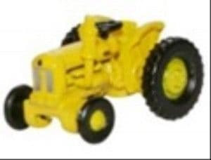 NTRAC003 Oxford Diecast Tractor Yellow