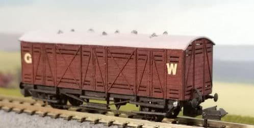 OCWW ALN046 GWR Bloater Fish Van S.9 Kit