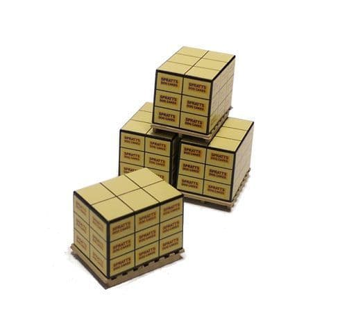 Oxford Diecast 76ACC003 Pallet Loads - Spratts Dog Cakes (4)