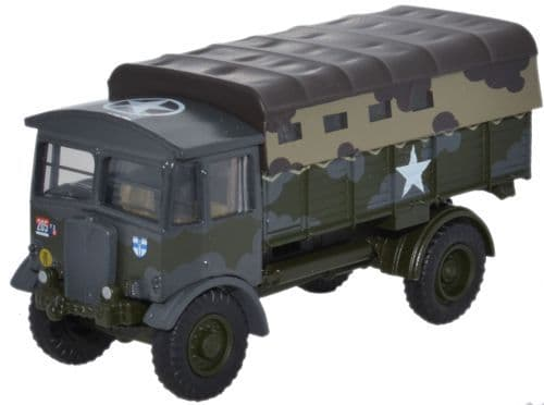Oxford Diecast 76AEC017  AEC Matador 2nd Batt Gordon Highlanders