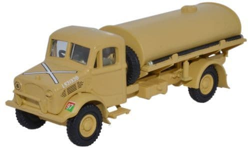 Oxford Diecast 76BD007  Bedford OY 3 Ton Water Tanker HQ Corps RASC