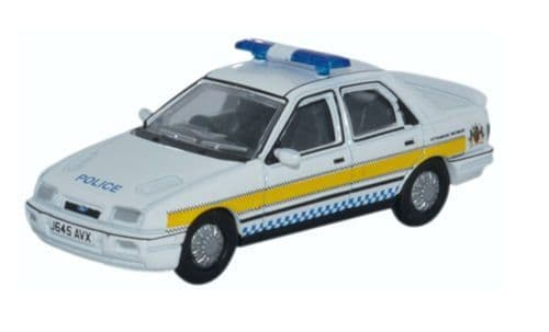Oxford Diecast 76FS002 Ford Sierra Sapphire Nottinghamshire Police
