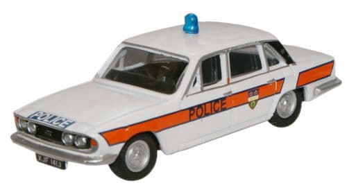 Oxford Diecast 76TP003  Triumph 2500 Leicestershire Constabulary