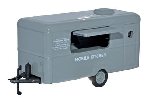 Oxford Diecast 76TR009  Mobile Trailer Mobile Canteen NFS
