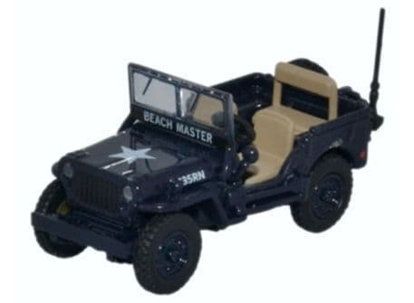 Oxford Diecast76WMB001 Willy MB Royal Navy