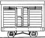 Parkside Dundas DM03A  Freelance 4 Wheel Brake Van OO-9