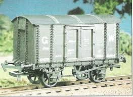 Parkside / Ratio 563 GWR Iron Mink 'A' van (M/W)
