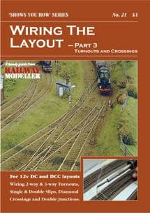 Peco Booklet SYH21 --- Wiring The Layout Pt3 Turnouts and Crossings