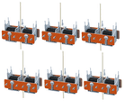 PL-10E Peco: Turnout Motor (Extended Pin for mounting below baseboards) Pack of 6