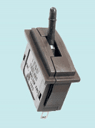 PL-26B Peco: Passing Contact Switch. Black Lever