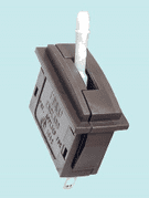 PL-26W Peco: Passing Contact Switch. White Lever