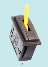 PL-26Y Peco: Passing Contact Switch. Yellow Lever