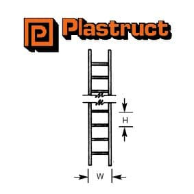 Plastruct KL-4P  KL-4P - LADDERS 1:100 (2 pieces)