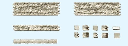 Preiser 18215  Quarrystone Walling Combination Kit