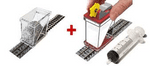 Probs-FIX-04 Ballast Spreader & Ballast Gluer (Fixer) COMBO for N Scale Track