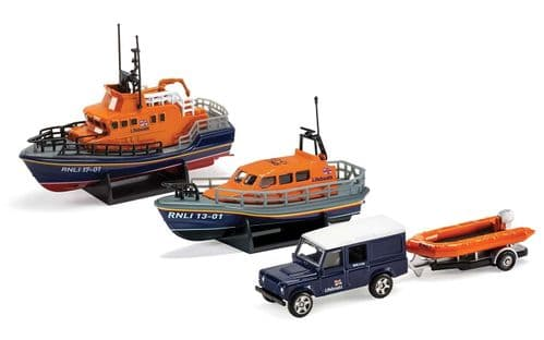 RNLI Gift Set - Shannon Lifeboat, Severn Lifeboat and Flood Rescue Team