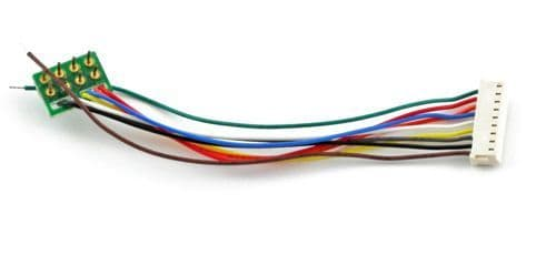 Soundtraxx810135 9 Pin JST to NMRA 8 Pin Wiring Harness