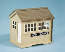 SS29 Wills: OO BUILDINGS KITS  Ground Level Signal Box