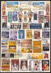 Tiny Signs OO133 - OO Scale German Travel Posters Pack 1