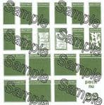 Tiny Signs OO29 - OO Scale Southern Poster Boards