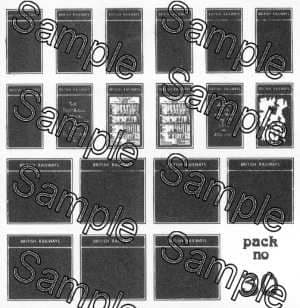 Tiny Signs OO30 - OO Scale BR Poster Boards