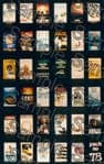Tiny Signs OO78  BR Modern Image Travel Posters