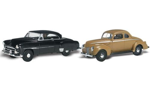 WAS5536 HO Scale Cruisin' Coupes