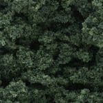 WFC147 Woodland Scenics: Bushes - Dark Green (18 cu. in. bag)
