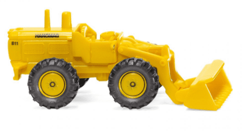 Wiking  097402 Scale: 1:160, N *Wheel Loader Maize Yellow