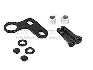 BMW-Powerlet DIN Type/12v BSB-12 Socket Mounting Plate for Handlebar Clamps.