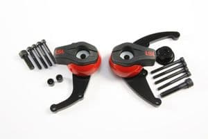 Bonnie' Thruxton t100 Scrambler Crash Protectors Mounting Kit: Clearance Discontinued Product!