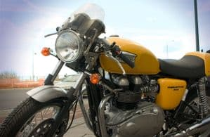 Hinckley Triumph Thruxton 900 Dart Classic Fly Screen: Special Clearance Price!
