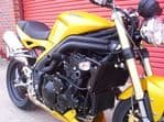 "SPEED TRIPLE 1050: R&G Racing Crash Protectors - Classic Style ""Front Mount"" 2005-07 CP0151BL"
