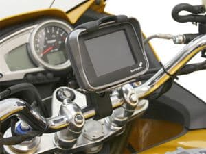 SW MOTECH: TRIUMPH Handlebar GPS-PDA mount for 7/8