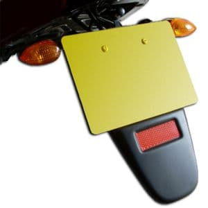 Universal Ductail - Tour:  A Rear Motorcycle Fender Flick/Flap Suited for Touring.