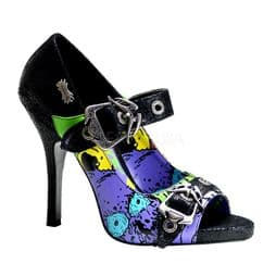 Costume Womens Strapy Zombie Shoes