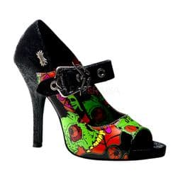 Costume Womens Zombie Open Toe Shoes