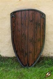 Footman Shield - Wood - 90x60 cm