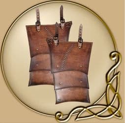 LARP Antonius leather tassets