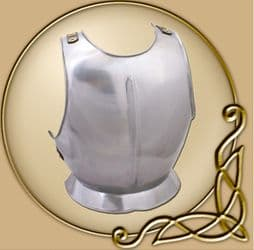 LARP Breast Plate with leather back straps